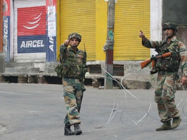 Army apologises for beating up eight policemen in Jammu and Kashmirs Ganderbal district on Saturday