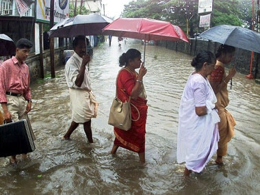 Heavy rains kills 11 in Kerala; flood, water-logging displaces around 2,000 families across state