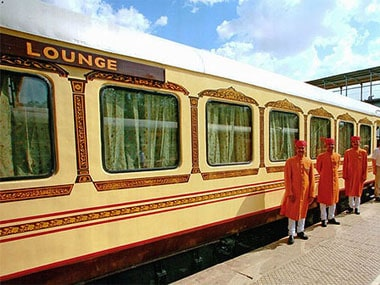 The Palace on Wheels train. Image courtesy: Palace on Wheels website.