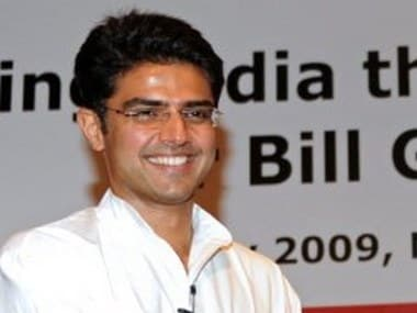 Corporate Affairs Minister Sachin Pilot