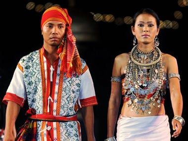 This image of the traditional costumes from Tripura has been used for representational purposes only. AFP.