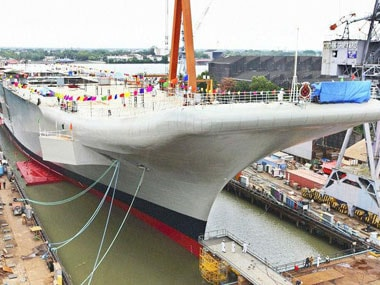 Chinese daily lauds launch of INS Vikrant
