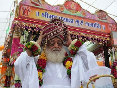 Does Asaram Bapus aide have a sex CD exposing the godman?