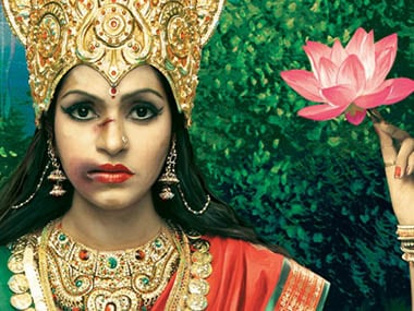 The Lakshmi who we once beseeched on bended knee for good fortune now sits sad-eyed on a lotus sporting a bloodied nose. Scoopwhoop.com