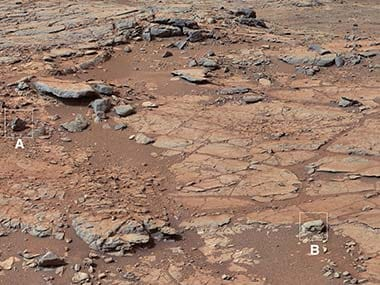 Mars rover Curiosity finds first mineral match from the Martian surface