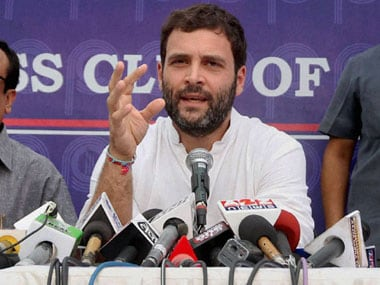 Will the Prime Minister have to step down after Rahul Gandhi's verbal attack. PTI