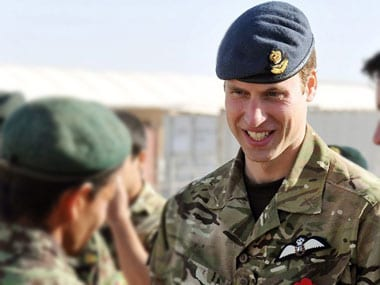 Prince William resigns from military service, to focus on charity work