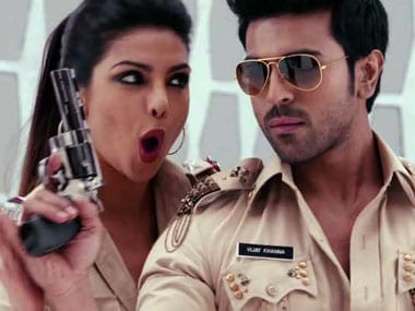 A still from a song on Zanjeer. IBN Live.