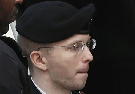 Convicted WikiLeaks soldier Manning says not a pacifist