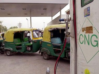 Indraprastha Gas hikes price of CNG in Delhi by Rs 1.36 a kilogram, blames rupee depreciation and rise in cost of natural gas