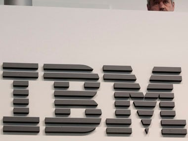 IBM shares surge as the company beats expectations on third quarter revenue