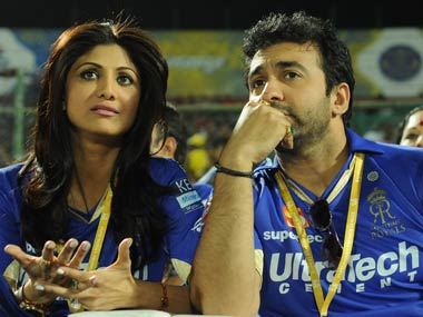 File photo of tainted ex-RR owner Raj Kundra Courtesy:  BCCI