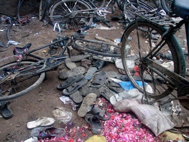 A file photo of the Malegaon blasts. AFP