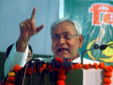 Bihar Chief Minister Nitish Kumar during the JD(U) Chintan Shivir. PTI