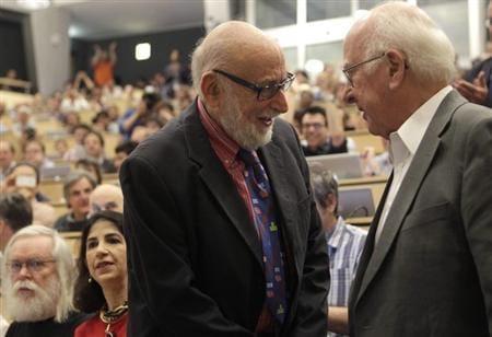 """Dark universe"" beckons as research target after Higgs boson wins Nobel"