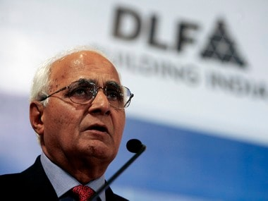 K P Singh, Chairman, DLF Ltd. Reuters