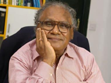 Professor CNR Rao. Image courtesy: Rao's website.