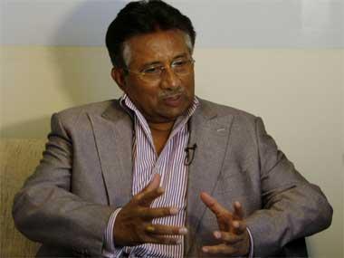 Former Pak president Pervez Musharraf.