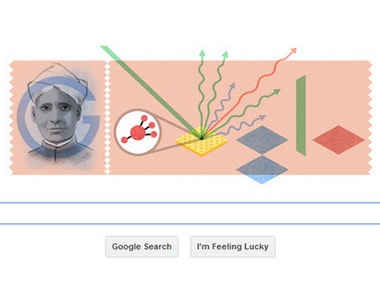 today s google doodle sums up scientist cv raman s biggest