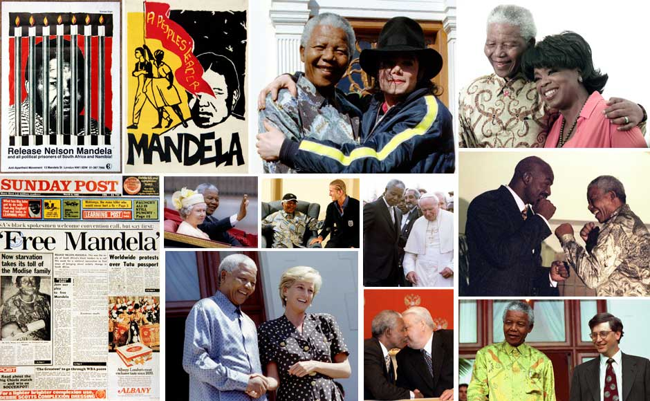 Photos: From Diana to Oprah, everyone wanted to meet Nelson Mandela