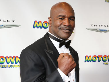 Holyfield, a former professional star who won the 1984 Olympics' heavyweight bronze medal, does take interest in Indian boxing. Getty Images