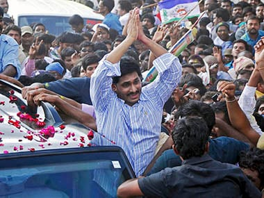 YSR Congress hopeful of by-elections to Lok Sabha