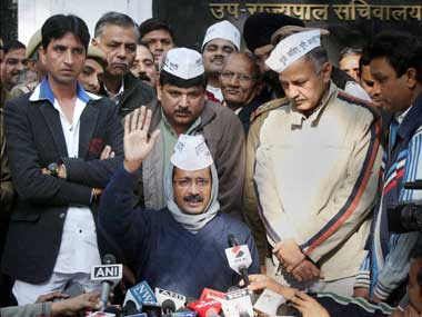Will Kejriwal form the next government. PTI