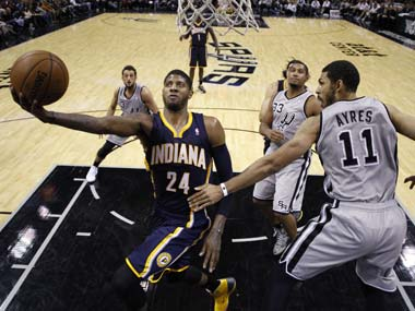 NBA wrap: League-leading Pacers end 11-game losing streak against Spurs