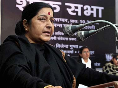 SC verdict on 377: Sushma Swaraj wants an all-party meeting