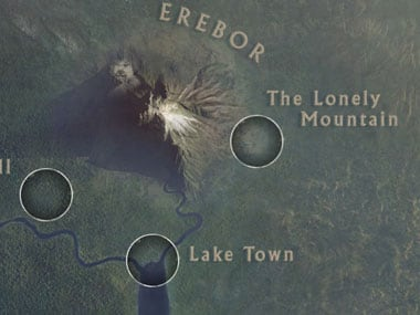 Can\'t get enough of The Hobbit? Try Google\'s cool map of Middle ...