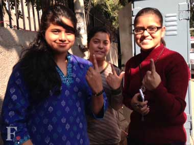 Delhi elections: For first time voter Vaishnavi, employment is a big issue