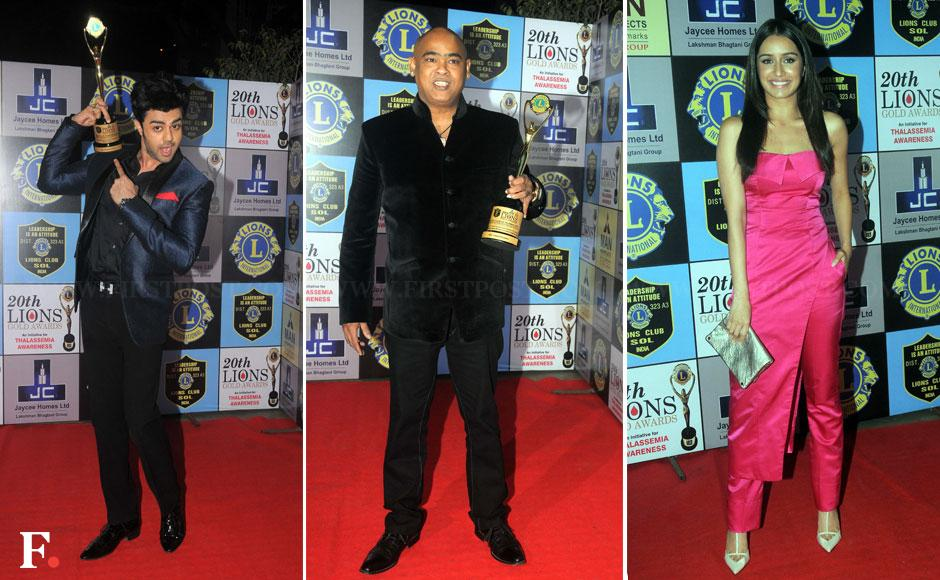 Photos: B-towners, TV actors attend Lions Awards ceremony