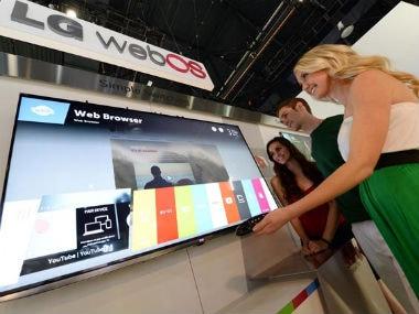 CES 2014: LG reveals plans for webOS TV platform