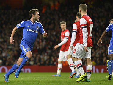 Chelsea's Mata is heading for United. Reuters