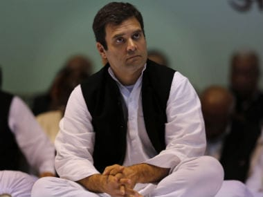 Rahul Gandhi in this file photo. AP