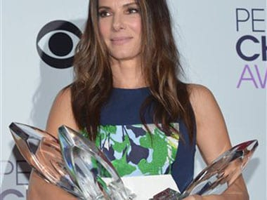Sandra Bullock sweeps People's Choice awards in star packed show