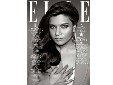 Mindy Kaling's body, skin colour go missing in new Elle magazine cover
