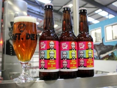 Scottish brewery launches not for gays beer, sends a crate to Putin