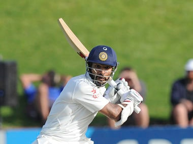 Can Dhawan get a big one? AP