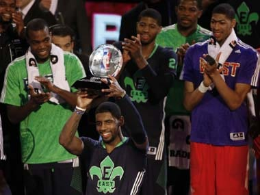 NBA All-Star game: Irving leads East past West's Durant and Griffin