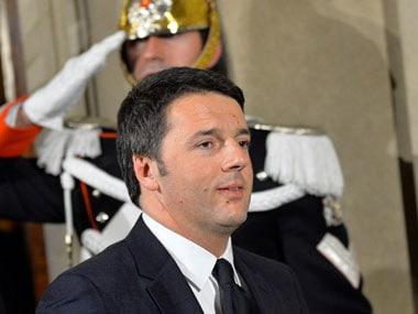 File photot of Matteo Renzi. AFP