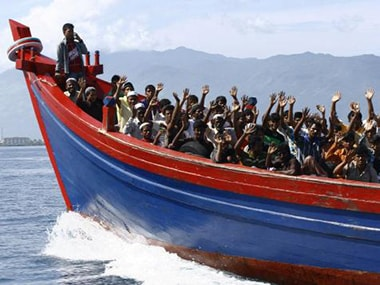 Boat carrying Rohingya refugees capsizes near Bangladeshs Coxs Bazar, 14 bodies recovered