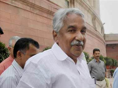 File photo of Chief Minister Oommen Chandy. PTI