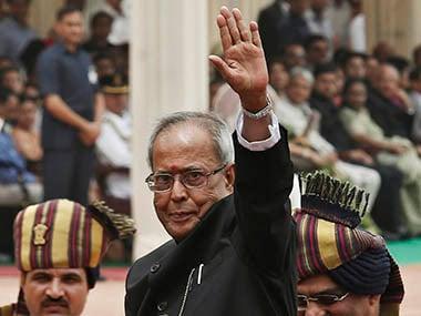 President Pranab Mukherjee. Reuters