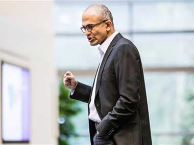File image of Satya Nadella. AP