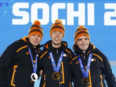 The Dutch dominated speed skating in Sochi. Reuters