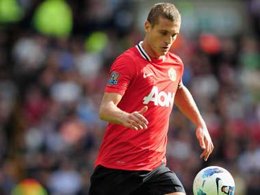 File image of Nemanja Vidic. Getty Images
