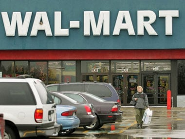 Shoppers can buy groceries from Wal-Mart in exchange for used video games