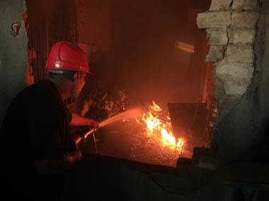 Mob sets fire to Hindu community centre in Pak over blasphemy
