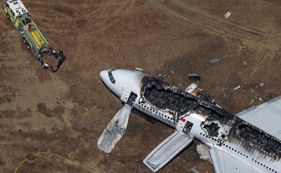 Photos: A look at recent aviation accidents across the world